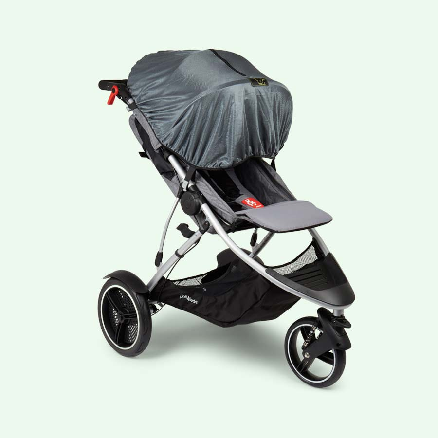 Black Snoozeshade Original Deluxe Buggy Cover