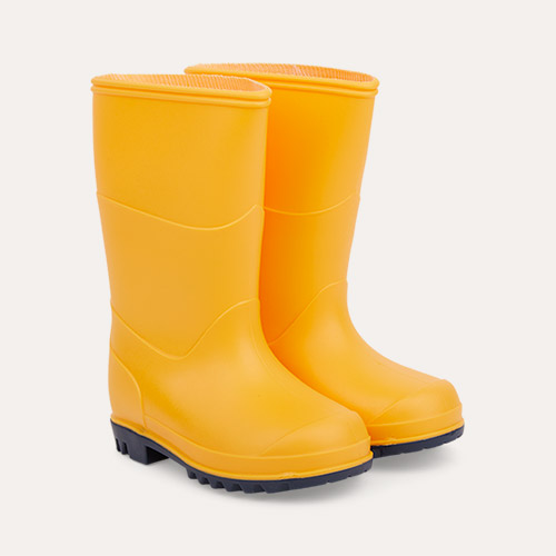 Yellow Muddy Puddles Classic Wellies