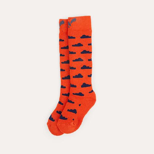 Ochre  Cloud Muddy Puddles Merino Mix Socks