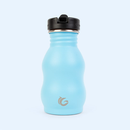 Hudson Blue One Green Bottle The Classic Curvy Canteen