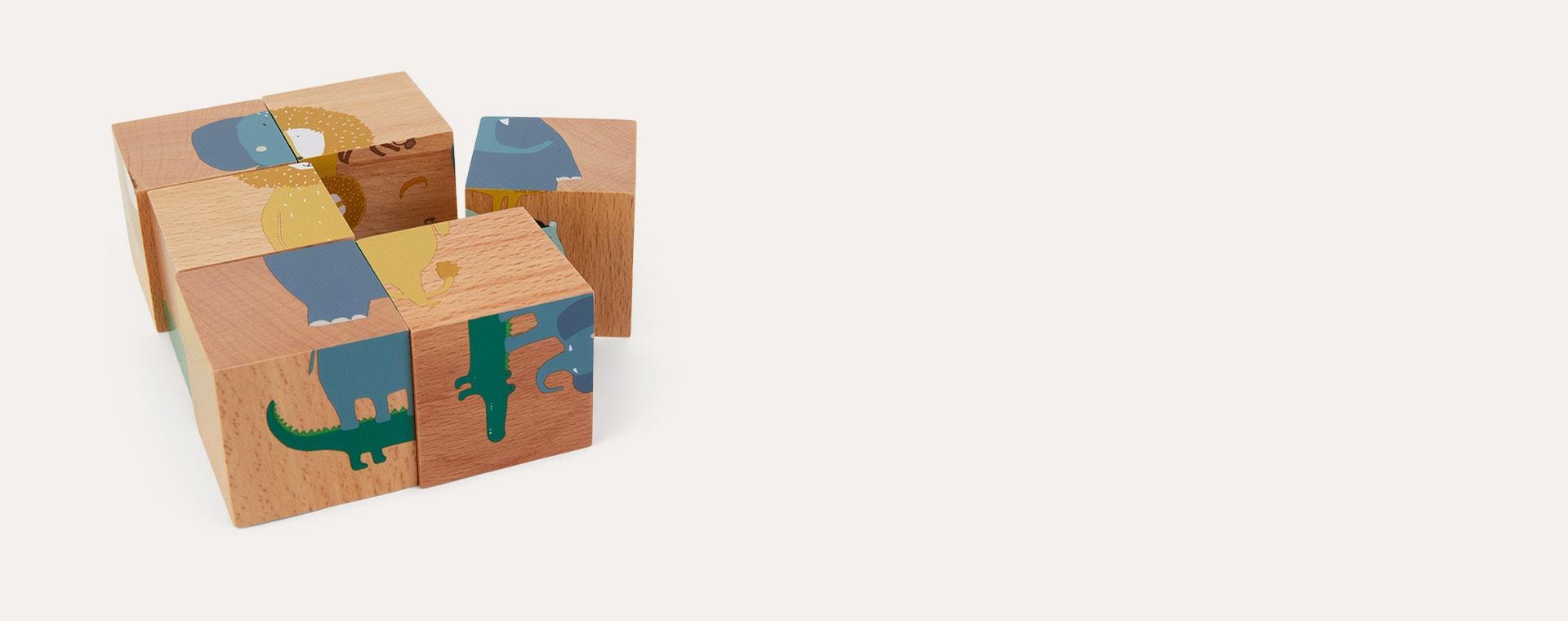 Multi Trixie Puzzle Blocks
