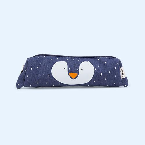 Mr. Penguin Trixie Long Pencil Case