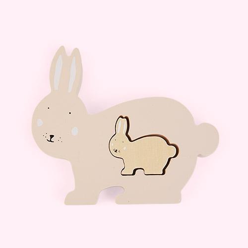 Pink Trixie Mrs Rabbit Puzzle