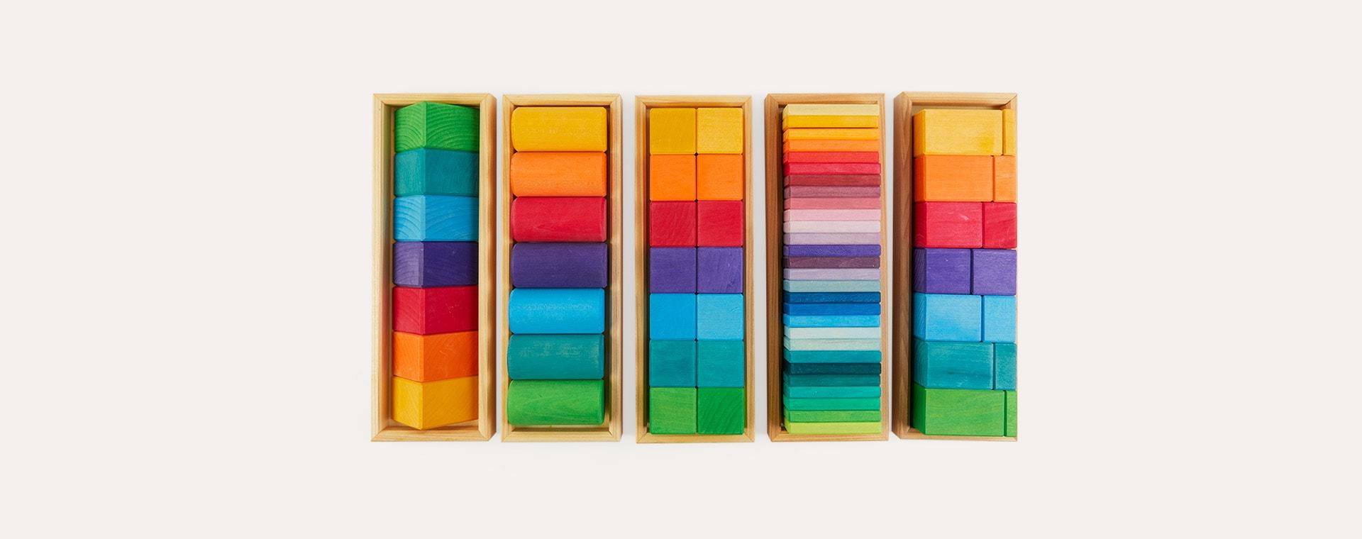 Multi Grimm's Building Set Shapes & Colours