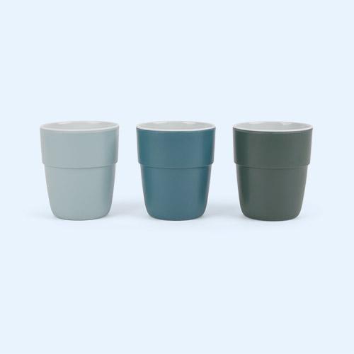 Deer Blue Done By Deer 3-Pack Yummy Mini Mug