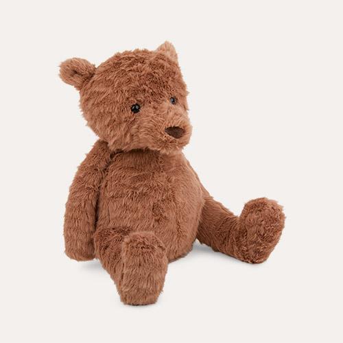 Brown Jellycat Cocoa Bear Meduim