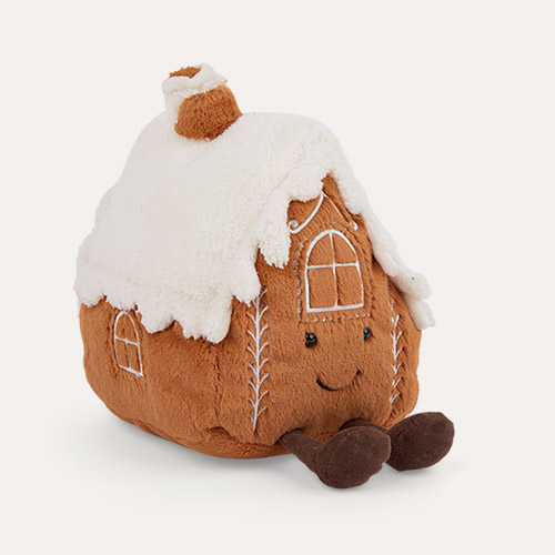 Brown Jellycat Amuseable Gingerbread House