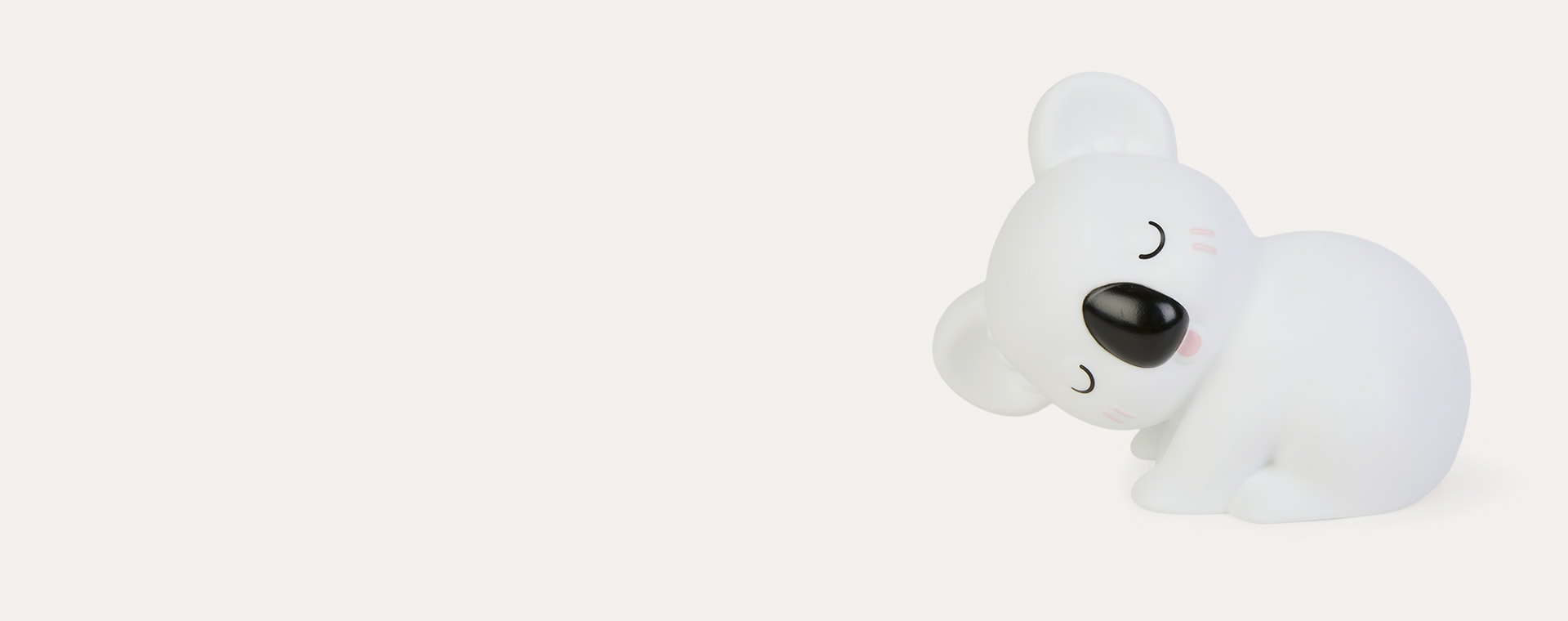White Dhink Sleeping Koala LED Night Light