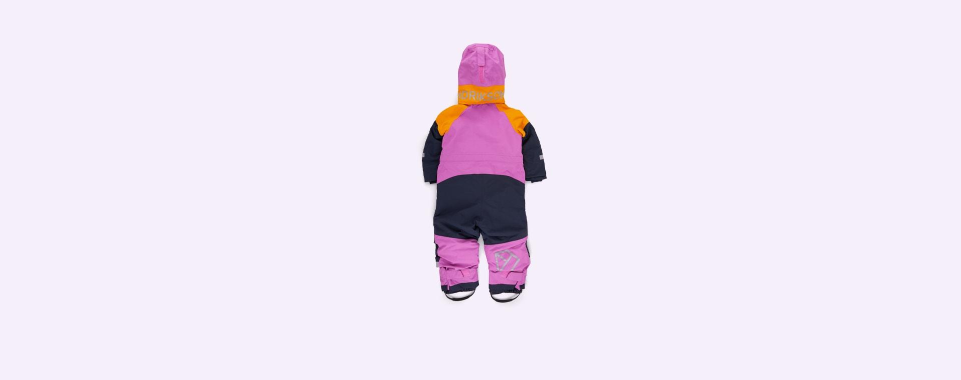 Purple Didriksons Cornelius Padded Coverall