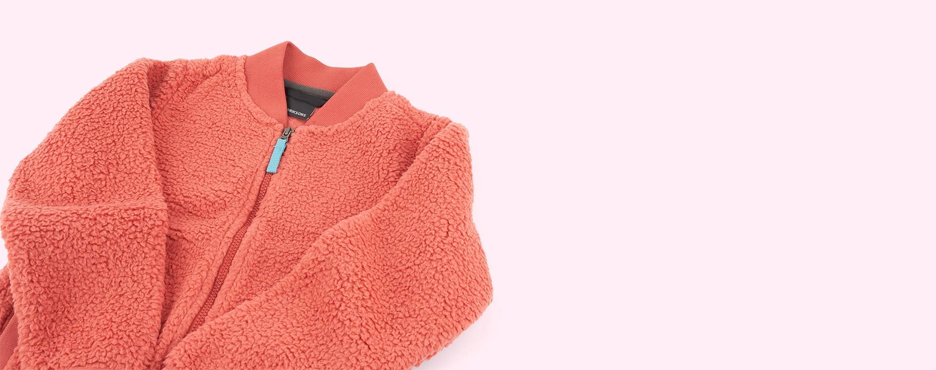 Burnt Pink Didriksons Ohlin Fleece