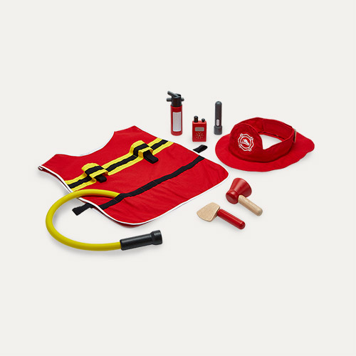 Red Plan Toys Fire Fighter Play Set