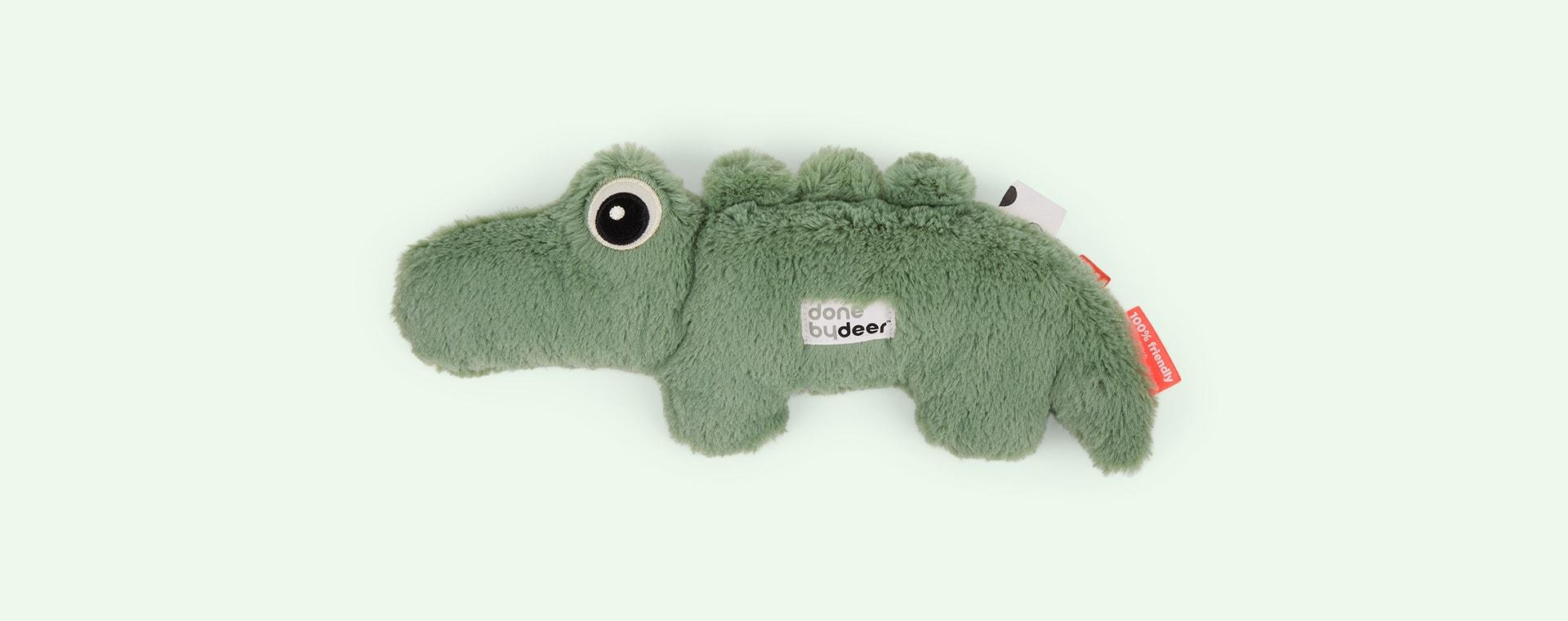 Green Done By Deer Cuddle Cute Croco