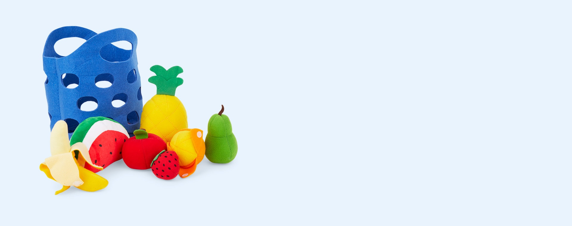 Multi Hape Toddler Fruit Basket