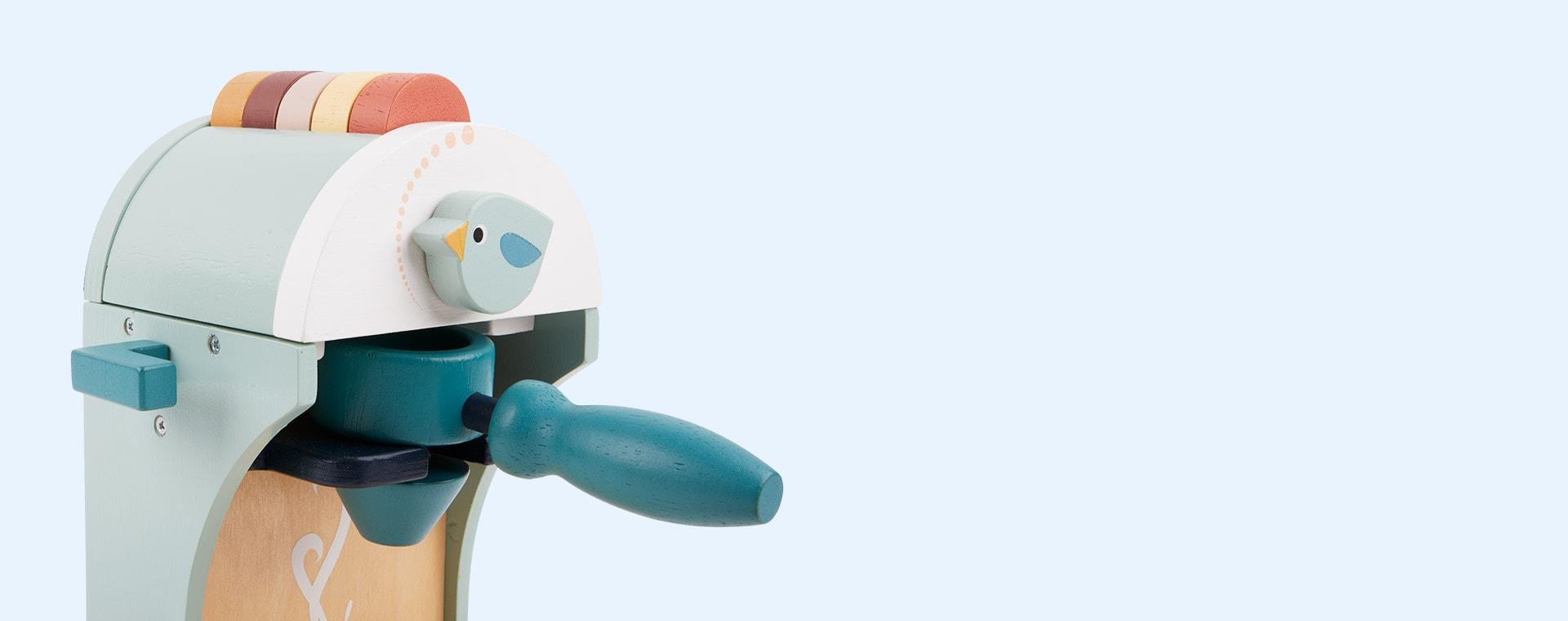 Blue Tender Leaf Toys Babychino Maker