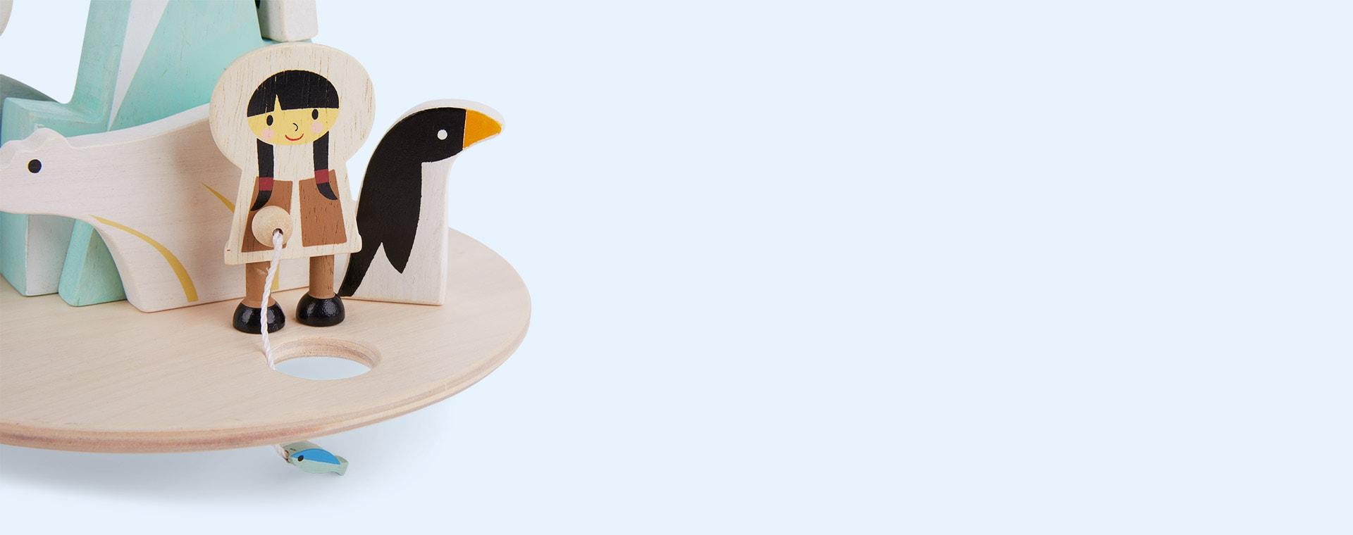 Multi Tender Leaf Toys Balancing Polar Circle