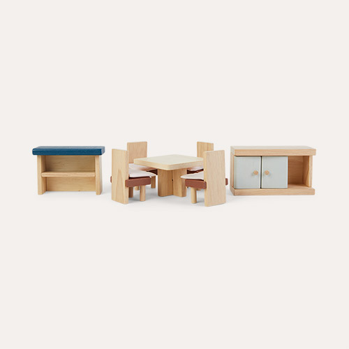 Brown Plan Toys Dining Room Neo