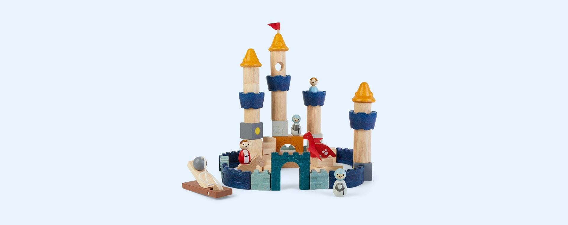 Orchard Plan Toys Castle Blocks