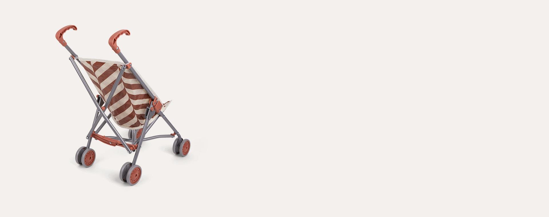 Red Stripe Minikane Minikane Pushchair