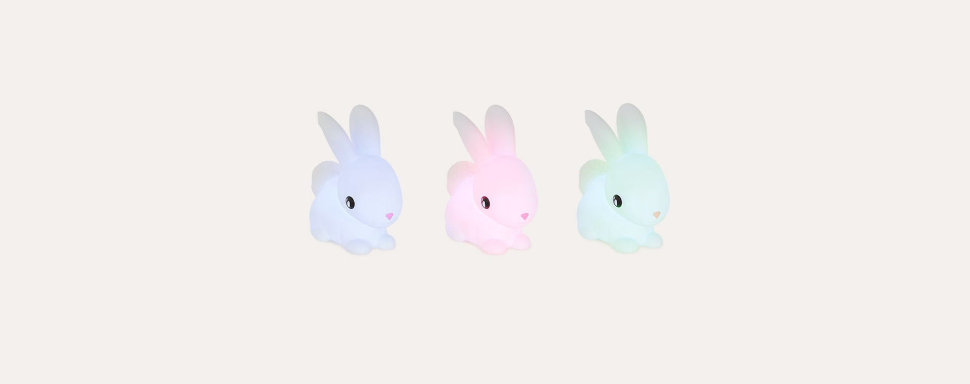White Dhink Bunny LED Night Light