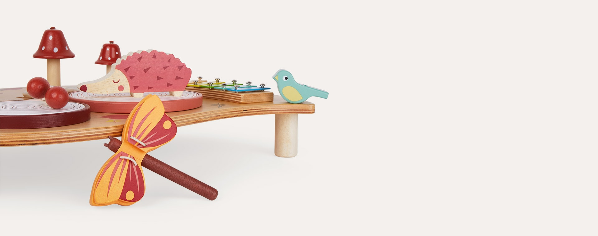 Multi Tender Leaf Toys Musical Table
