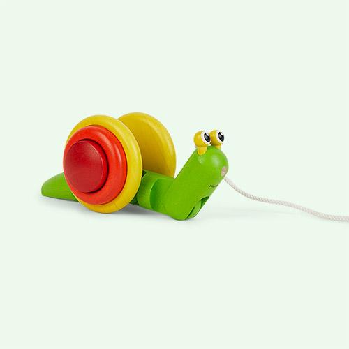Multi Plan Toys Pull Along Snail