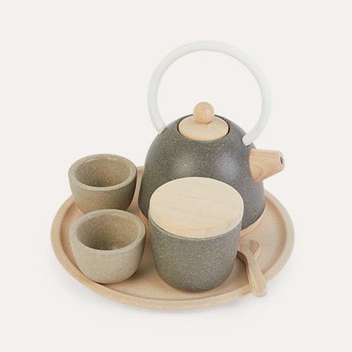 Grey Plan Toys Classic Tea Set