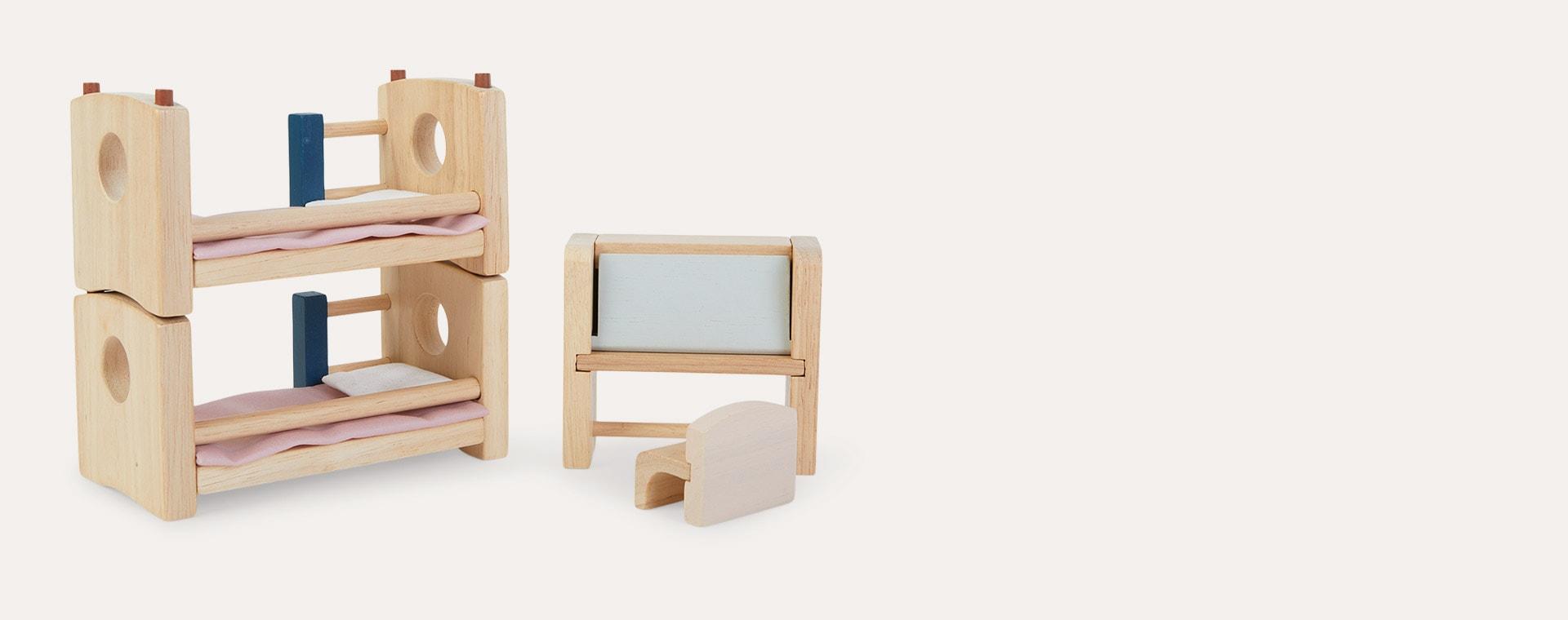 Brown Plan Toys Children's Bedroom Neo