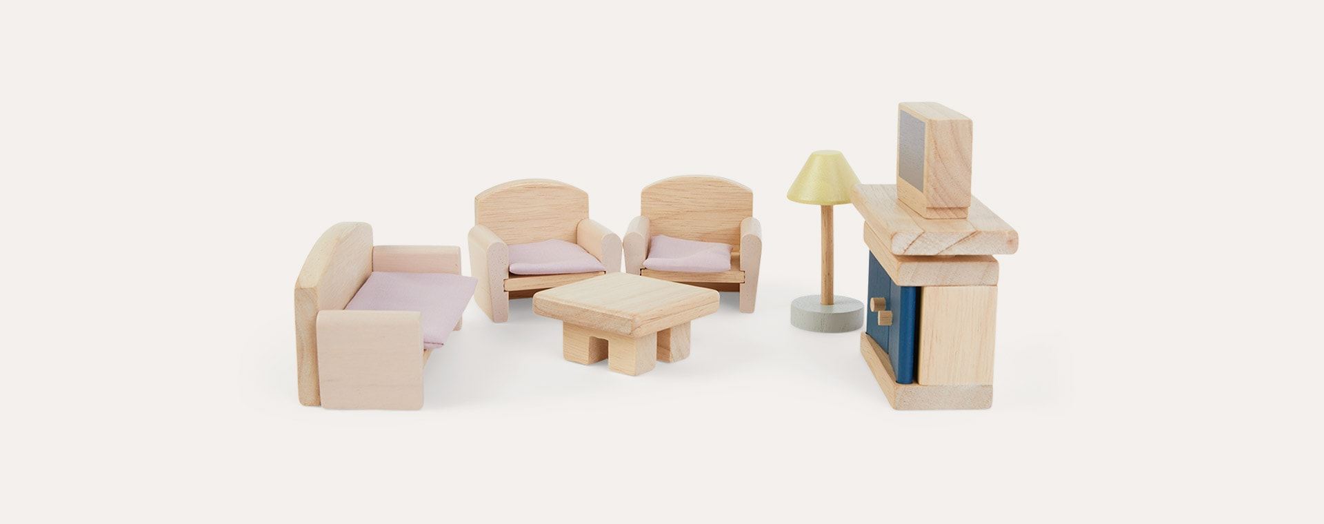 Brown Plan Toys Living Room Neo