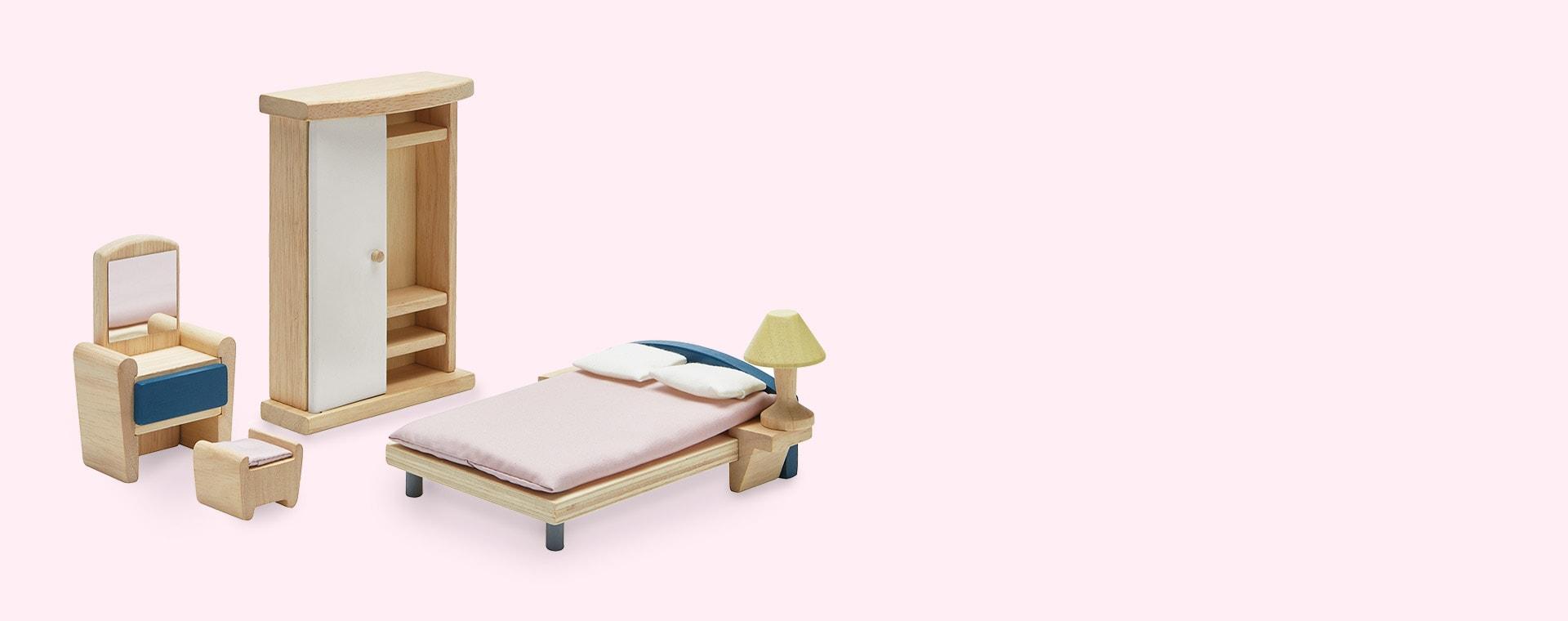 Brown Plan Toys Bedroom Neo