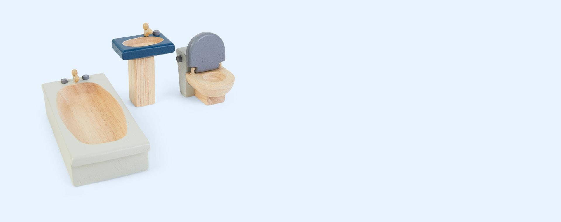 Brown Plan Toys Bathroom Neo