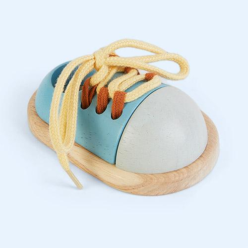 Blue Plan Toys Tie up Shoe