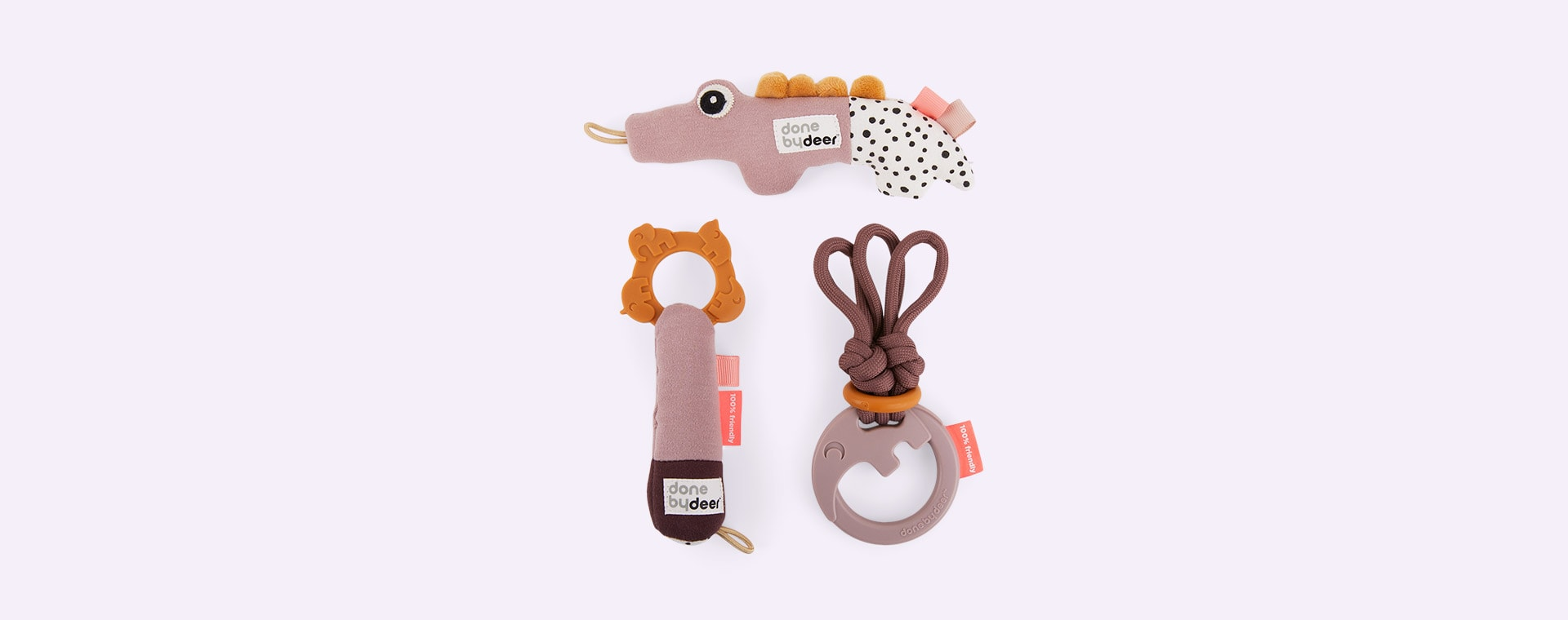 Powder Done By Deer Tiny Activity Toys Gift Set Deer Friends