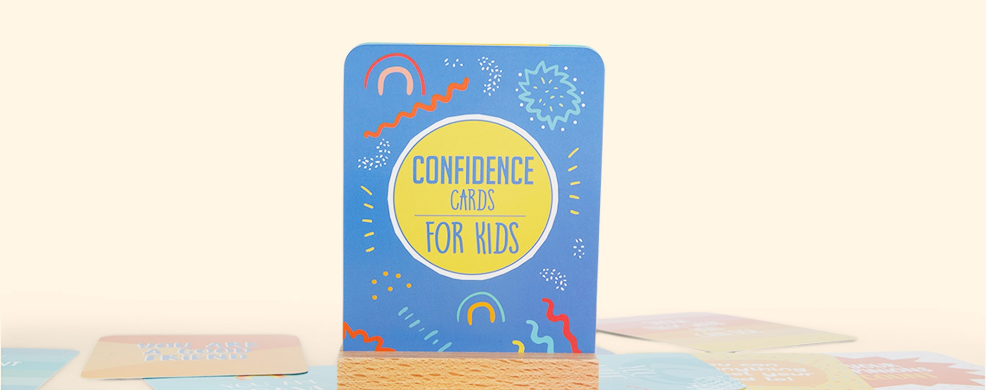 Multi bookspeed Confidence Cards For Kids