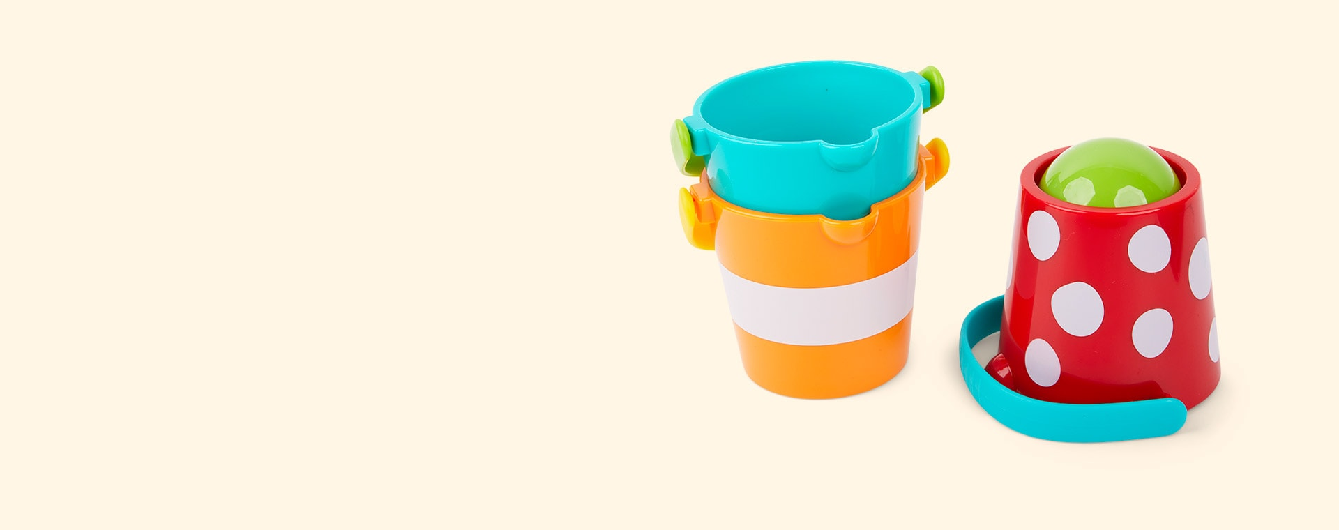 Multi Hape Happy Buckets Set