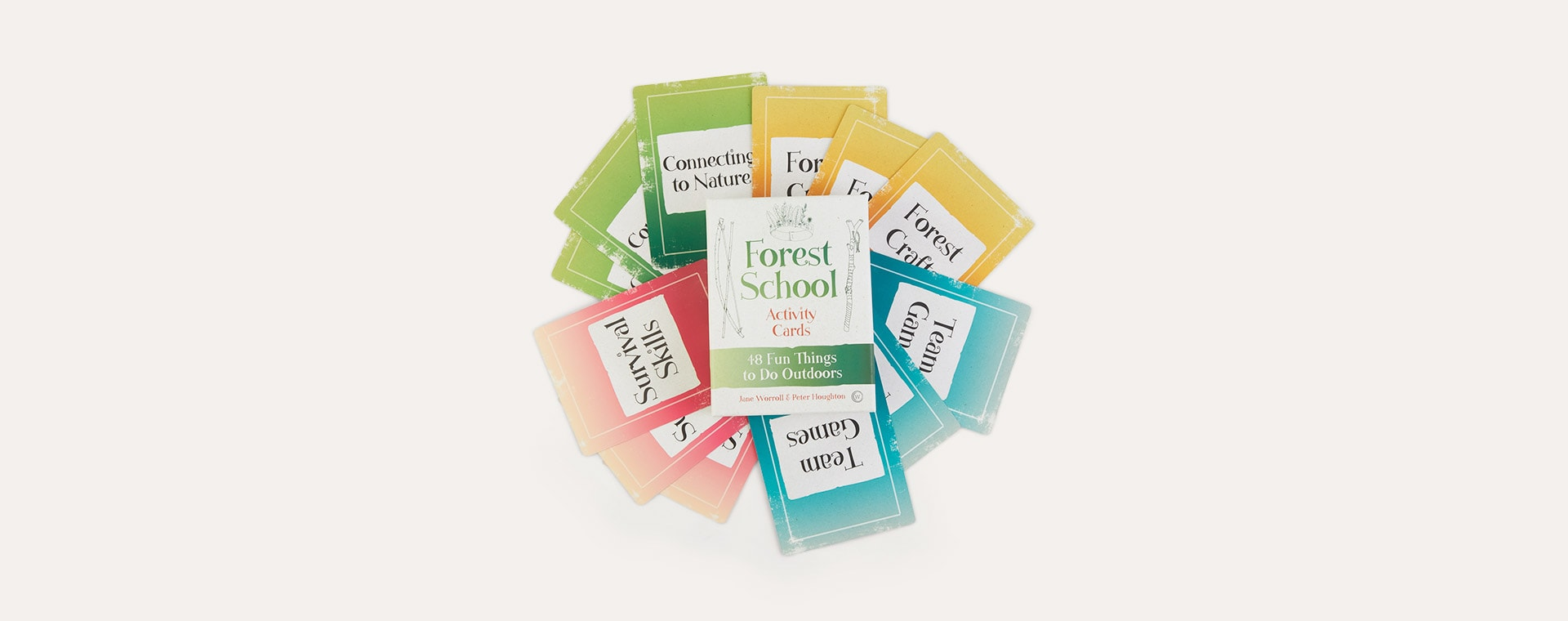Multi bookspeed Forest School Activity Cards