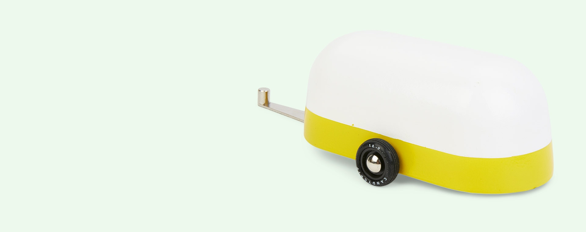 Yellow Candylab Camper