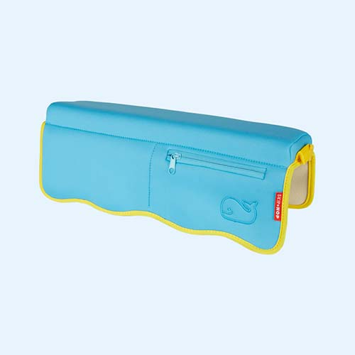 Blue yellow Skip Hop Moby Bathtub Elbow Rest