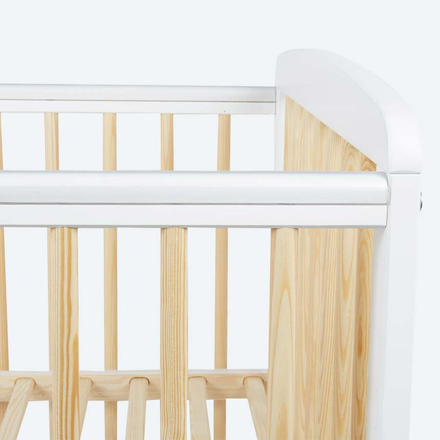 White KIDLY Home Two Tone Cot