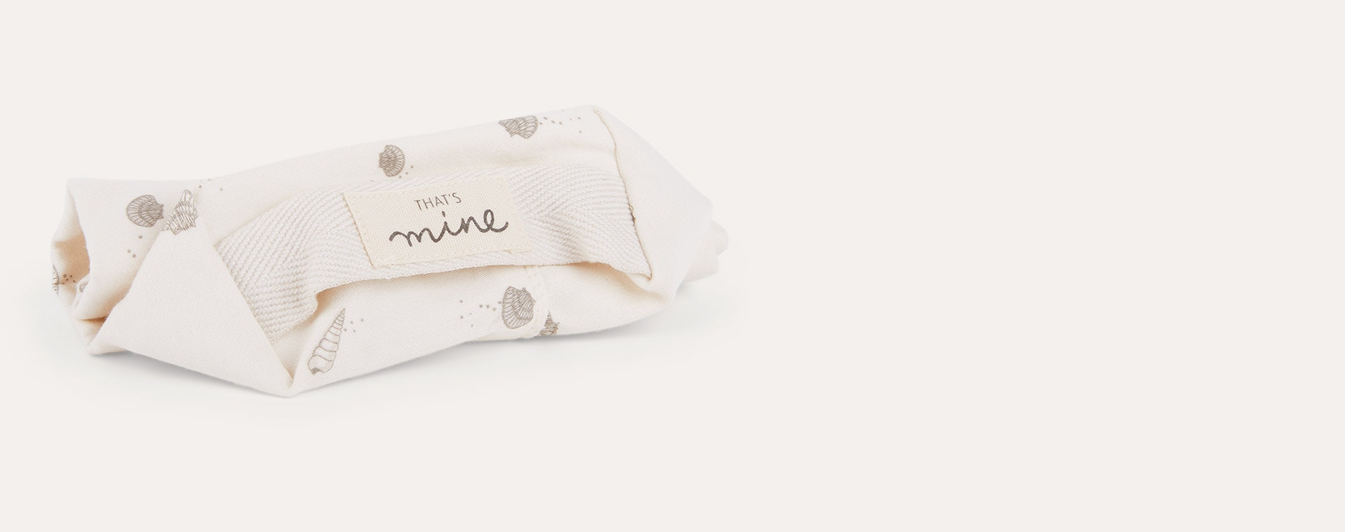 Cream that's mine Baby Wipes Cover