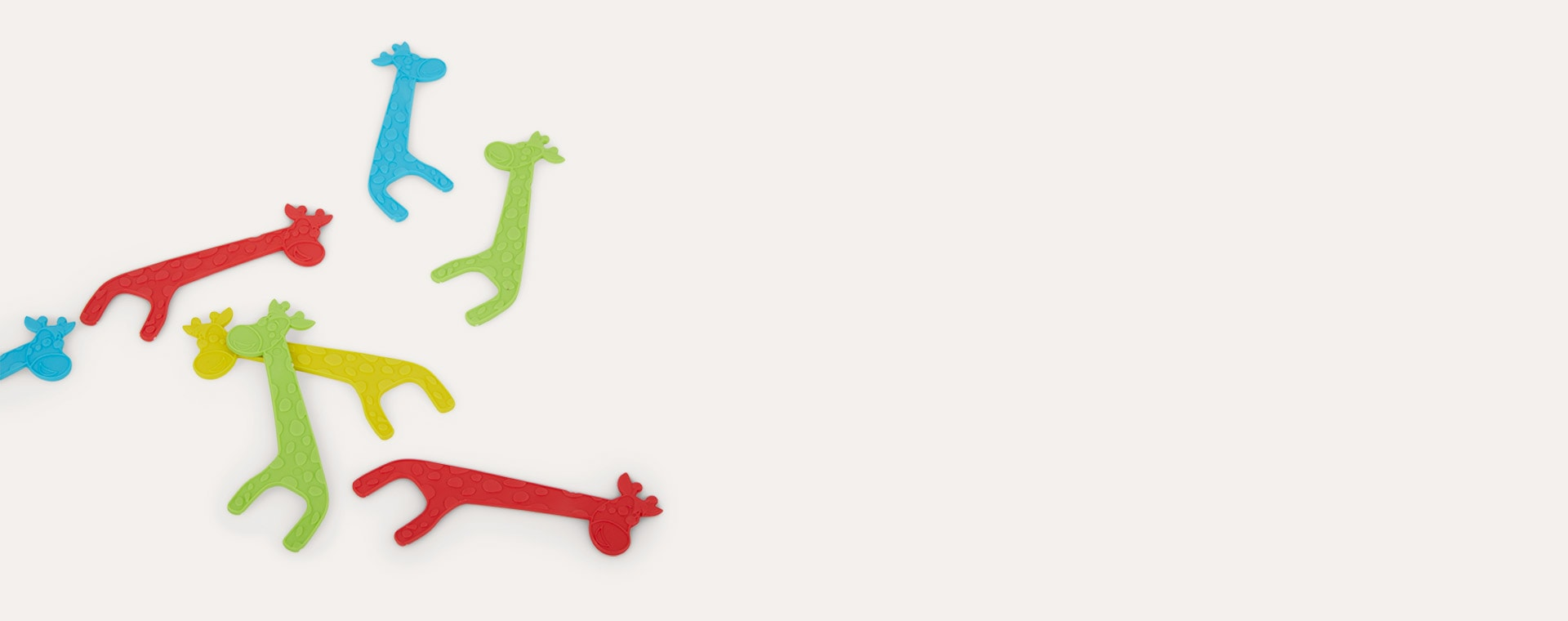 White Jack N' Jill Biodegradable Floss Picks 30pcs
