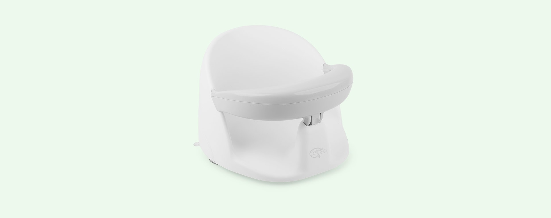 Grey/White BabyDam Orbital Bath Seat