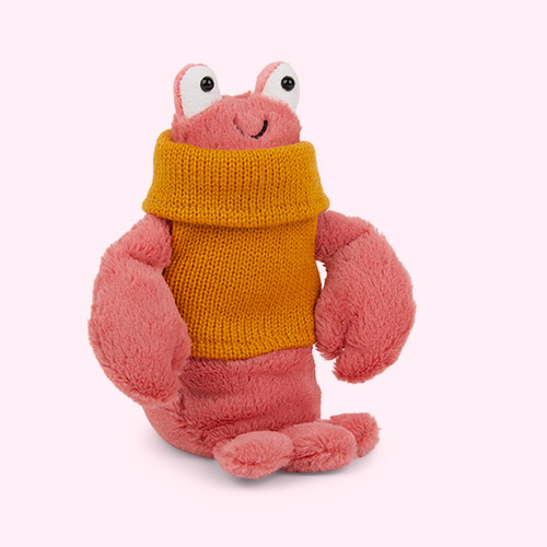 Red Jellycat Cosy Crew Lobster