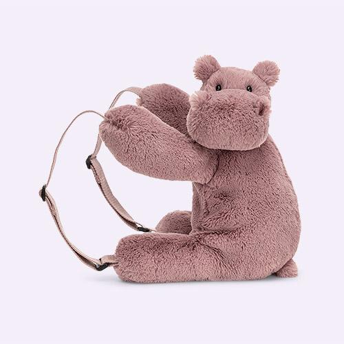 Hippo Jellycat Huggady Backpack