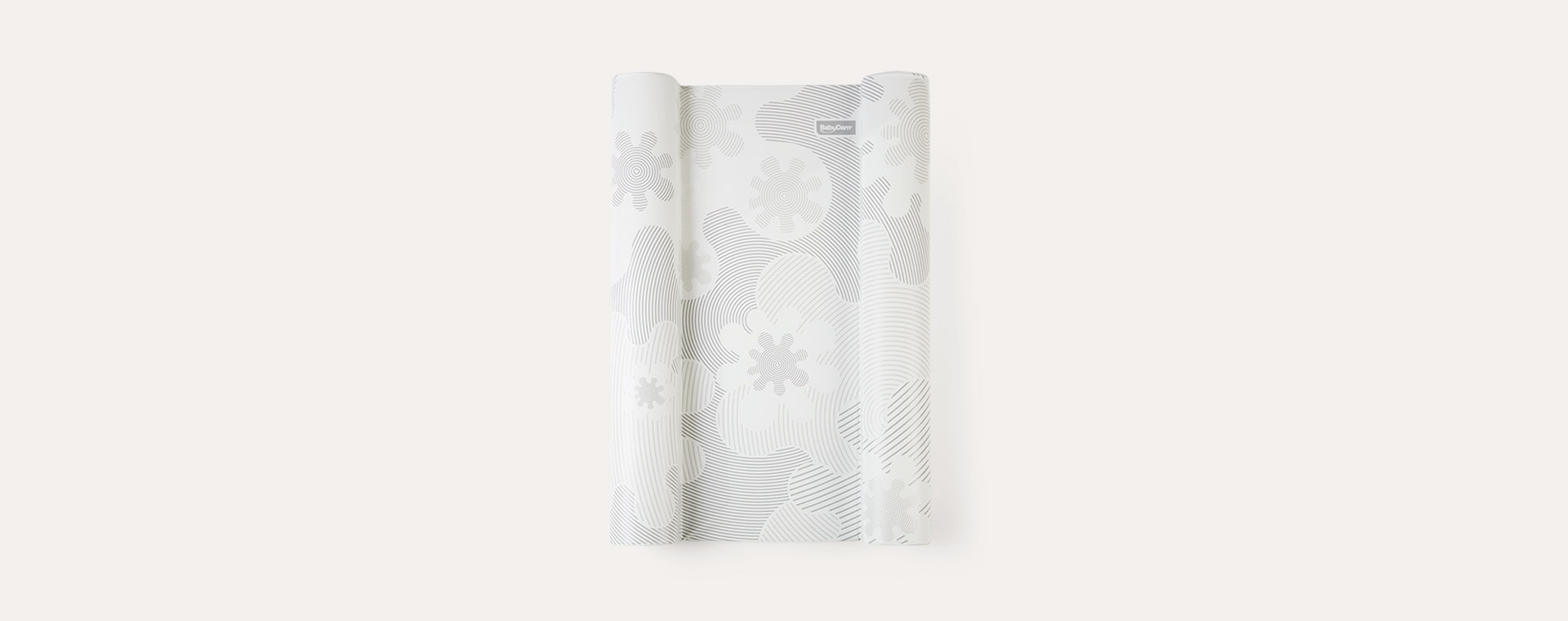 Grey/White BabyDam SuperSnug Change Mat