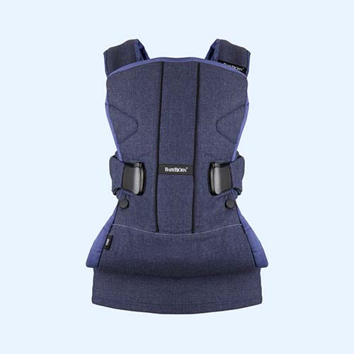 Denim Blue BabyBjorn Baby Carrier One