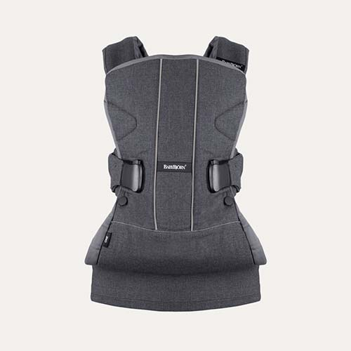 Denim Grey BabyBjorn Baby Carrier One