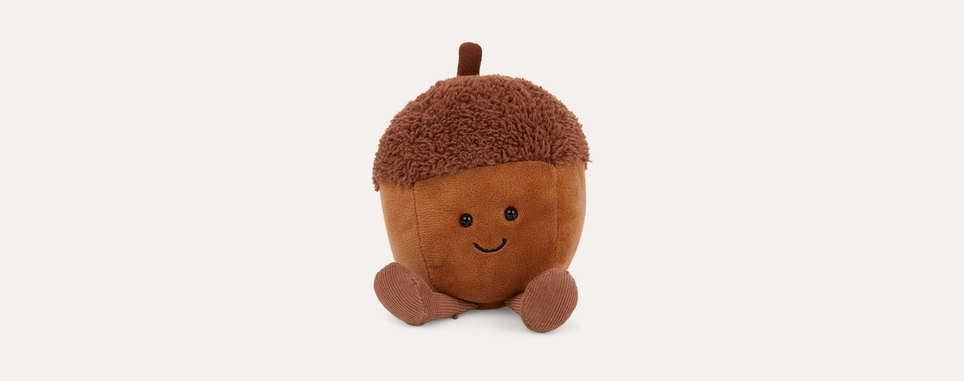 Brown Jellycat Amusable Acorn