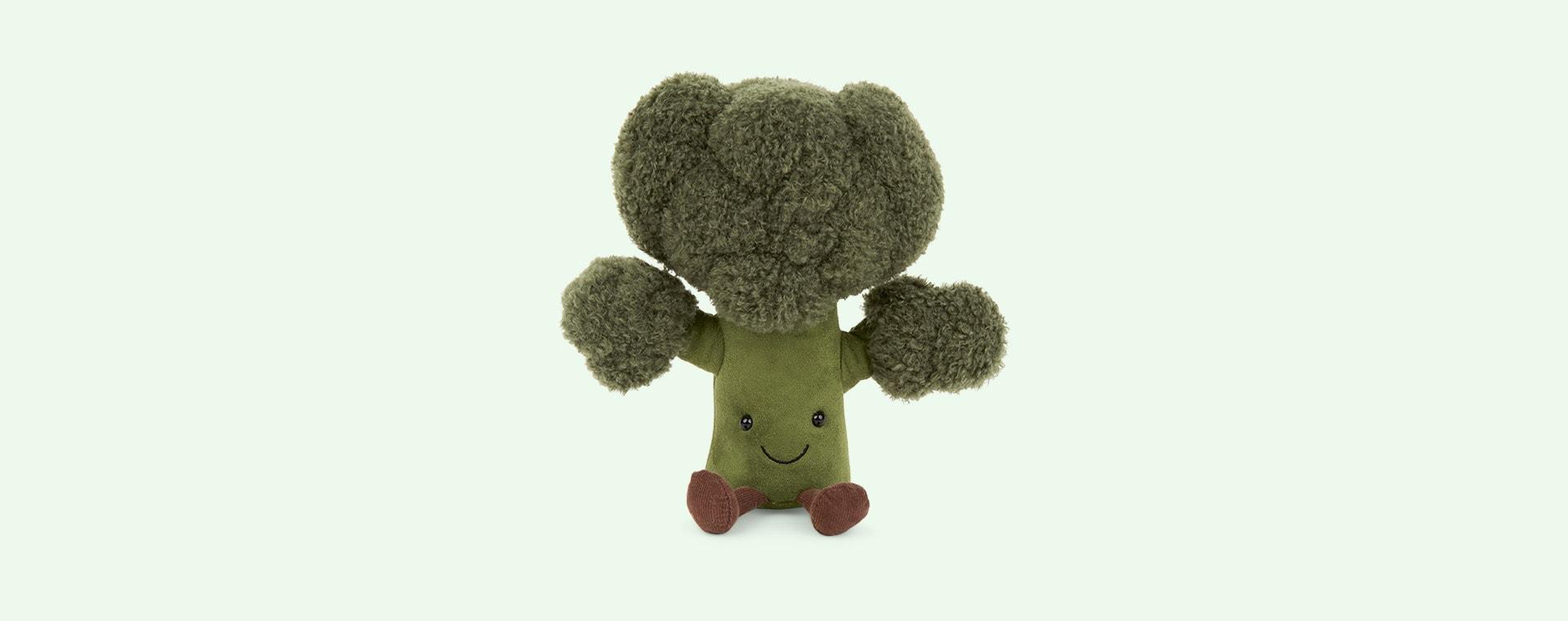 Green Jellycat Amusable Broccoli