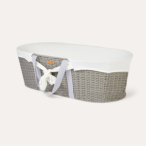 Off White Childhome Moses Basket Cover Jersey