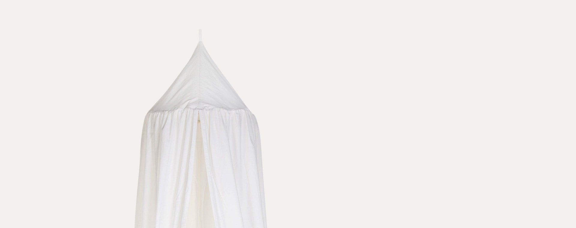 Off White Childhome Hanging Canopy Tent & Playmat